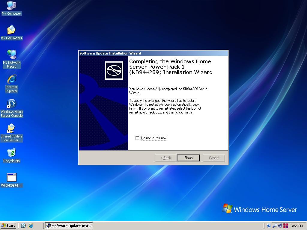 windows home server power pack 1  screenshots gallery
